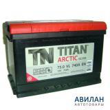 Аккумулятор TITAN ARCTIC silver 6СТ-75.0